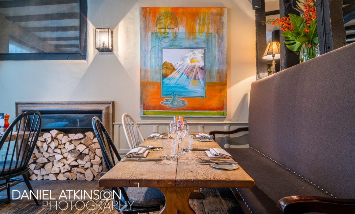 Professional photography of restaurant interior