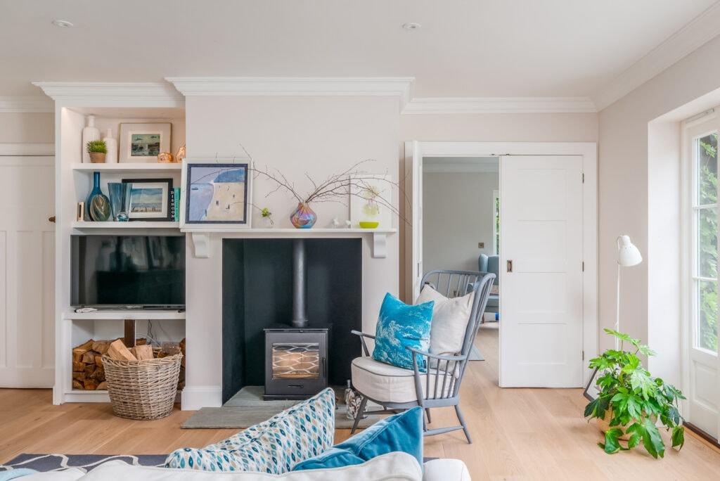 Interior designer styled living space