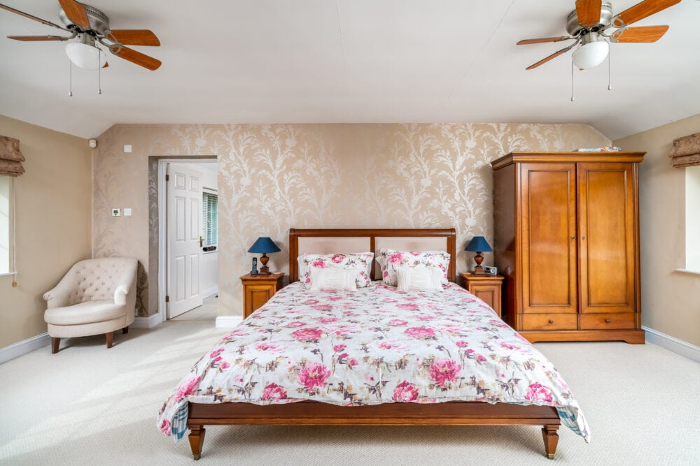 High end property master bedroom and ensuite